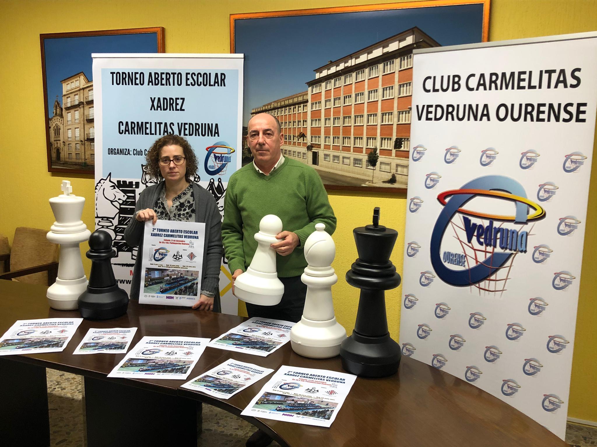 Presentación II Torneo Escolar Aberto de Xadrez Carmelitas Vedruna