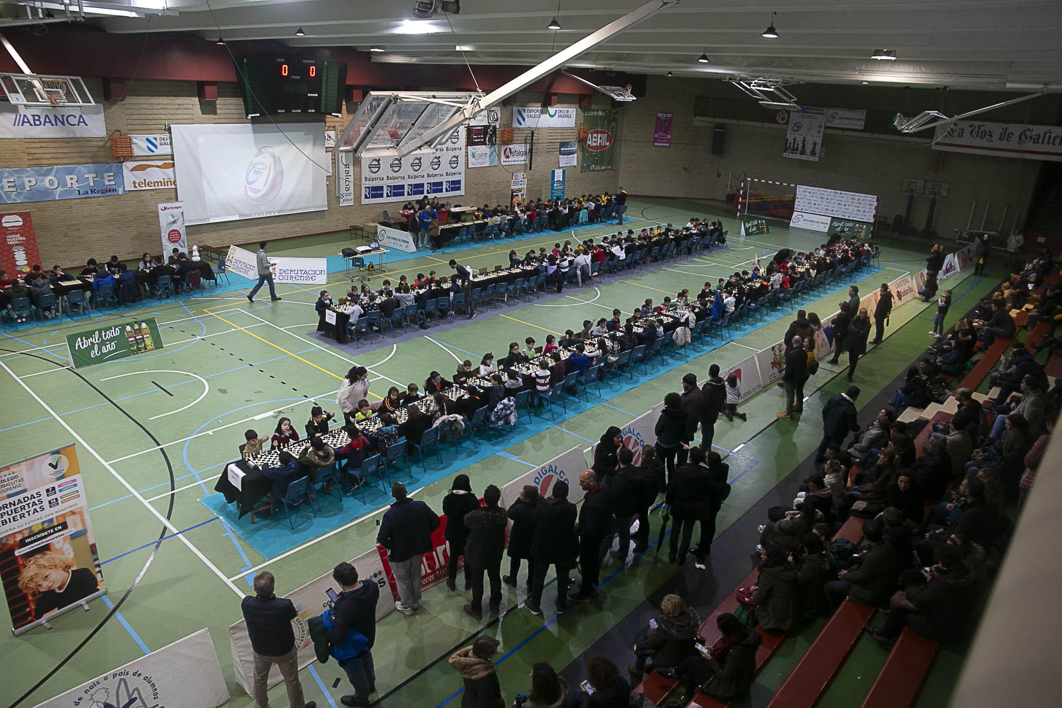 Éxito de participación en el 2º Torneo Aberto Escolar de Xadrez Carmelitas Vedruna