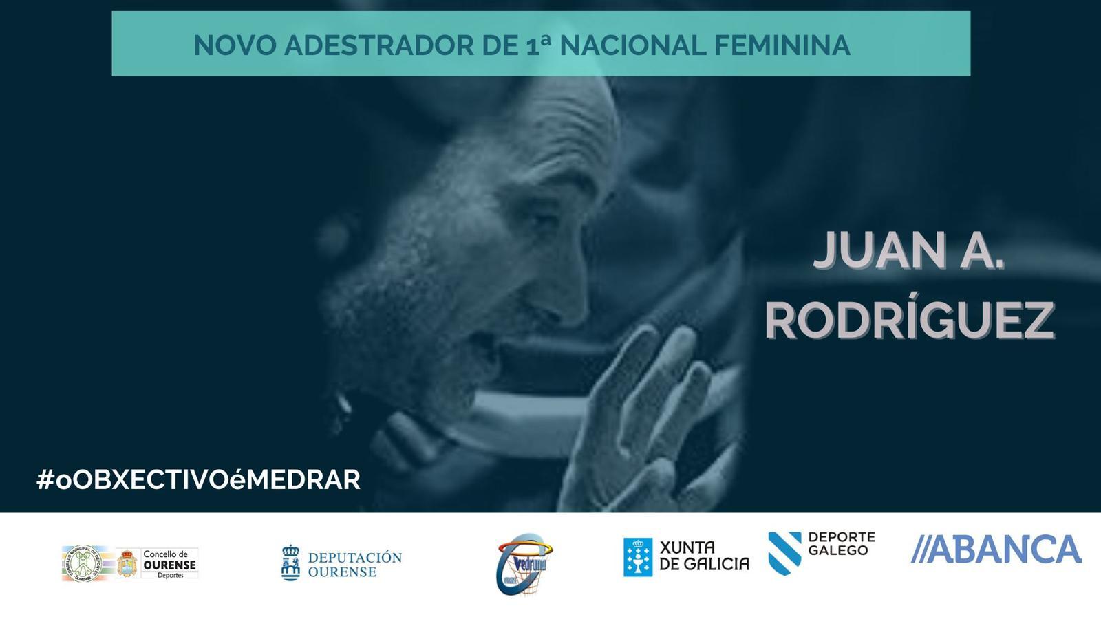 Juan Antonio Rodríguez, nuevo entrenador del Carmelitas de 1ª Nacional Femenina