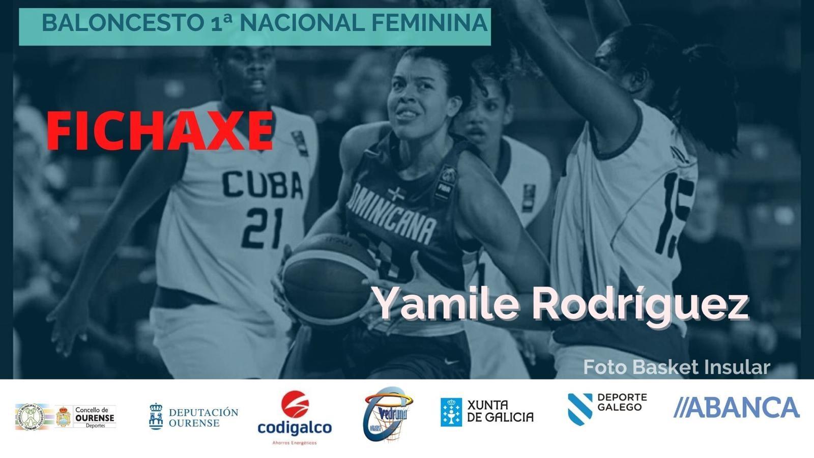 Yamilé Rodríguez ficha por el Codigalco Carmelitas