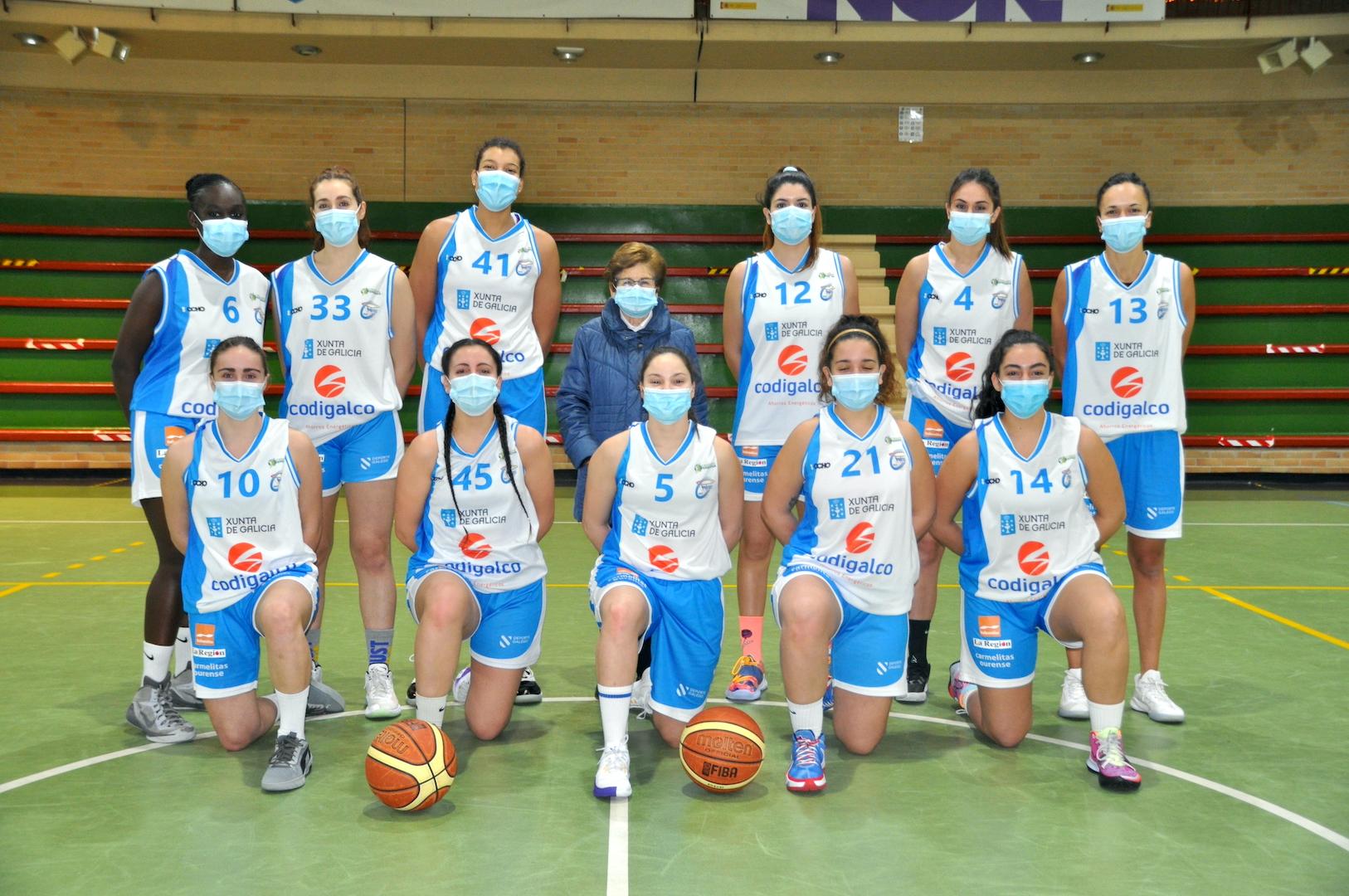Previa 1ª Div. Nac. Fem.: Codigalco Carmelitas vs Universidad de Oviedo