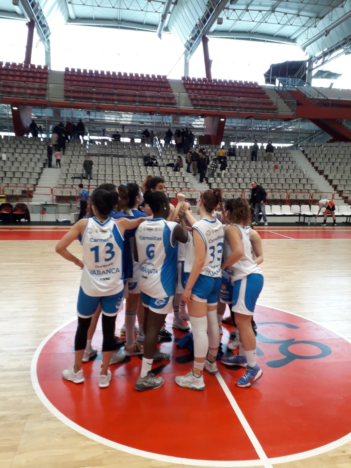 1ª Div. Nacional: Fodeba Gijón vs Codigalco Carmelitas: 49-66